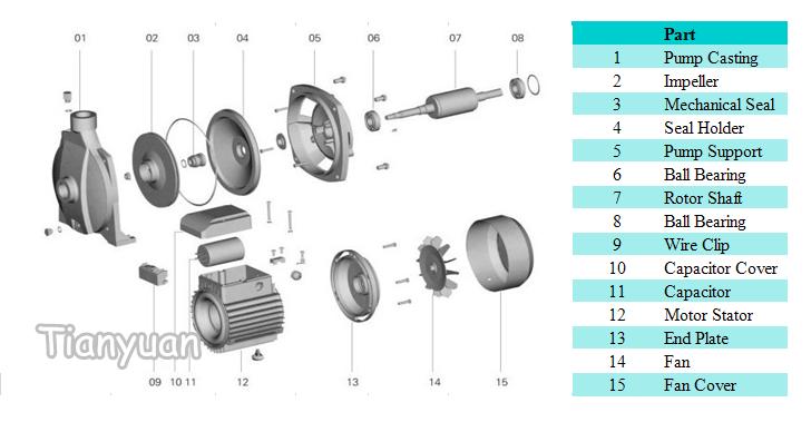High Performance Cpm158 Garden Household Pump: Qb60 Water Pump Wiring Diagram At Gundyle.co