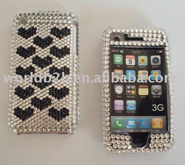 Diamond Crystal Case for iPhone3G/3GS