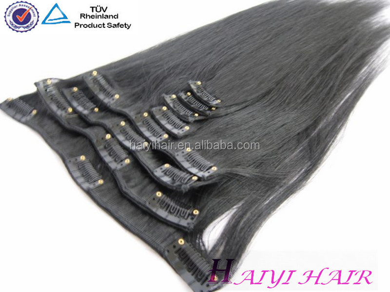 Wholesale Alibaba Remy Virgin Hair 100% Remy blonde 30 inch hair extensions clip in