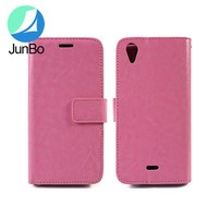 wholesale cell phone case leather case for BLU Studio C Super Camera D870U