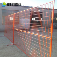 China supplier 6 X10 ft Galvanized US type and Canada standard powder coating Temporary fence / removable portable metal fencing