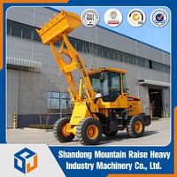 Articulated Hydraulic Steering System ZL-16 Mini Wheel Loader