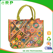 Alibaba china most popular promotional pp woven laminated bag shopping