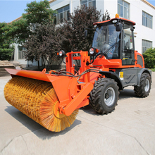 High performance snow cleaning machine snow cleaner snow sweeping machine