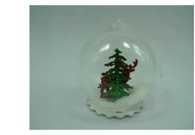 Best Selling Holiday Time Packaging Christmas Glass Ball Ornaments