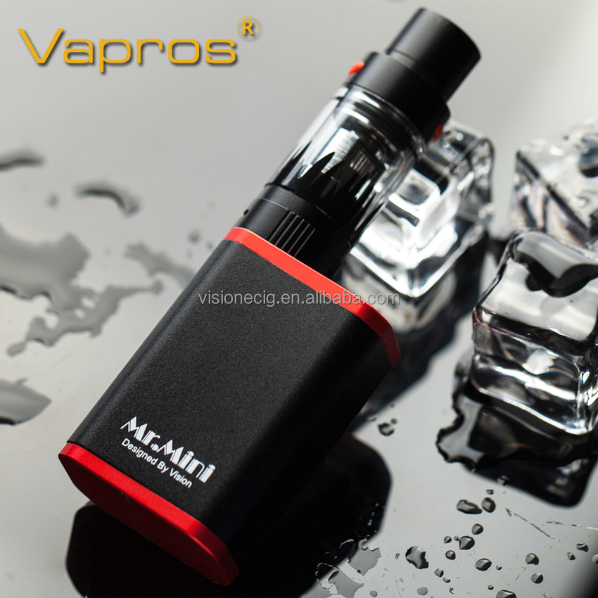 Vision box mod Mr. Mini mod e cigarette vaporizers e cig china wholesale with sub ohm tank