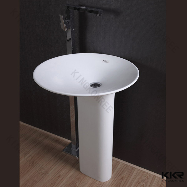 Integrated Bathroom Sink : China Integrated Bathroom Sink,Solid Surface Freestanding Bathtubs ...