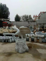 Granite eagle stone carving for animals