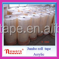 Transparent and Yellowish Color Bopp Jumbo Roll Tape for Manufacturer Cutting