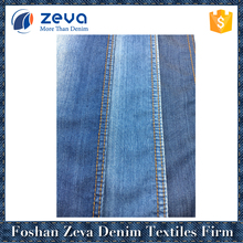 China manufacturers supply small MOQ slub denim fabric with cheap price