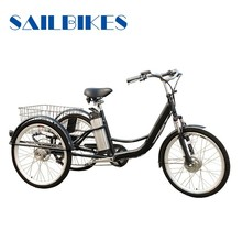 family 3 wheel electric bicycle for sale