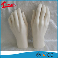 Top hot soft silicone fake hand silicone artificial hand for display made in China