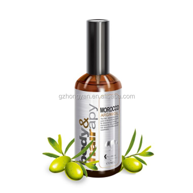 Morocco Argan oil for body and hair/ Hair serum /Hair care factory OEM