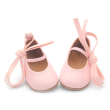 Cute Leather Girls Baby Shoes Party Dancing Mary Jane Shoes Fancy Baby Shoes Small MOQ