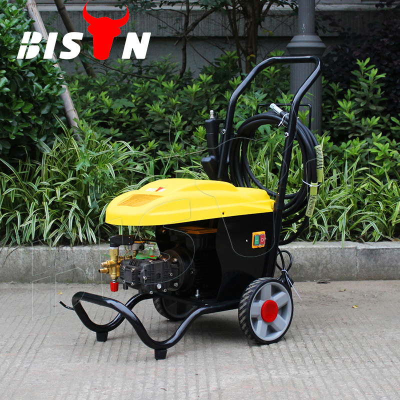 BISON(CHINA) Land 100 Bar 1.6kw Car Use Electric High Pressure Washer