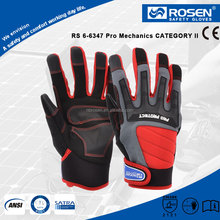 RS SAFETY Synthetic leather working and mechanic Driving gloves