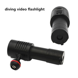 KC FIRE DL0073R RED Light Underwater Scuba Diving Photography Video Shooting Diving Flashlights Torch Lights