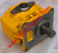 hydraulic triple gear pump,gear pump 705-21-46020 for bulldozer D575A-3 parts