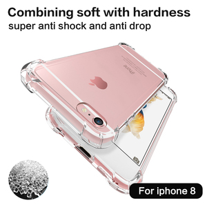 Factory Newest fashion Style protector mobile back cover phone case for iphone 8 anti shock case