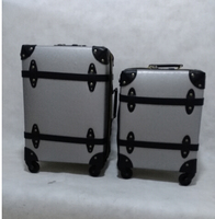New design travelling vintage luggage set, bags & cases