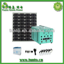 High quality small solar lighting kit