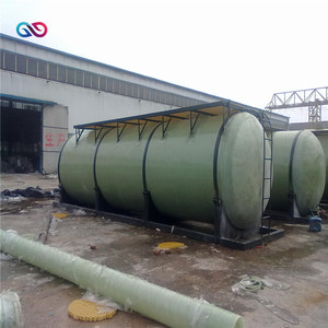 2017 Best frp pressure vessel Horizontal Laboratory composite quartz filter tank