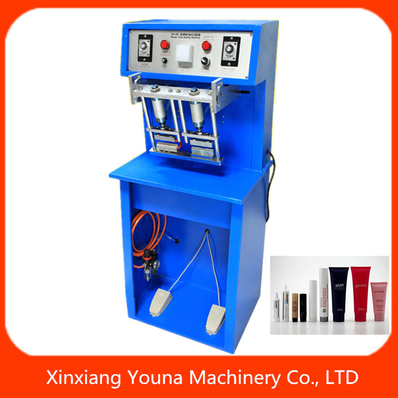 semi automatic plastic tube sealer unguent /ointment tubes sealing machine