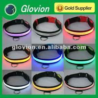 glowing pet dog cat collar top quality led necklace for dog Glow LED Cat Dog collars Pet Flashing Light Up Safety Collar