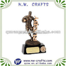 Football rugby sports player figurine