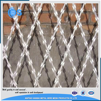 pvc coated galvanized/stainless steel barbed wire