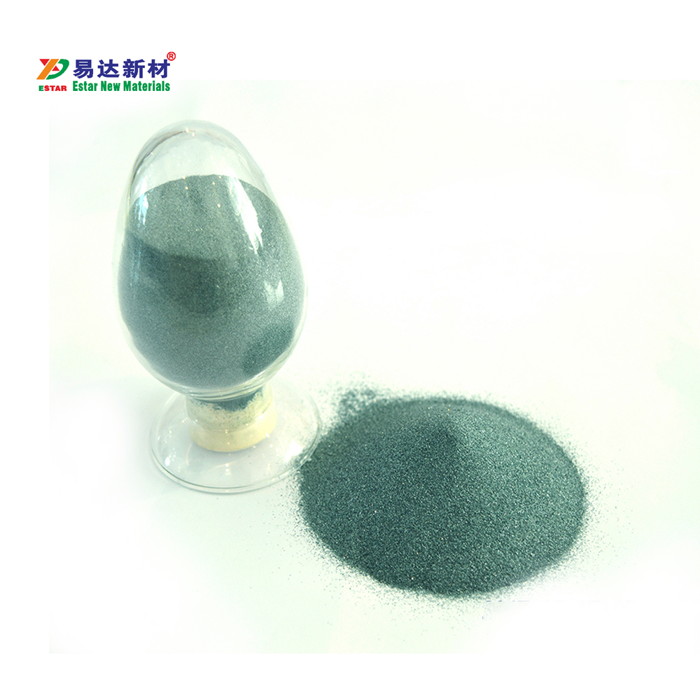 abrasive materials of sand blasting green silicon carbide grit