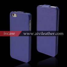 Super Slim Superior Quality Leather Top Flip Case for iphone5s,Ultra Thin Case for iphone5s