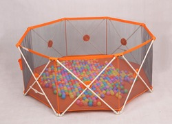 Babies Products Fold Down Lightweight Portable Play Yard For Babies