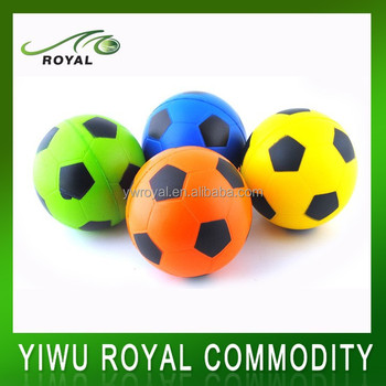 Kids Squeezable PU Foam Mini Football Stress Ball