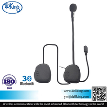 Motocyle accessioes supporting phone calling, stereo music and GPS wireless bluetooth helmet earphone