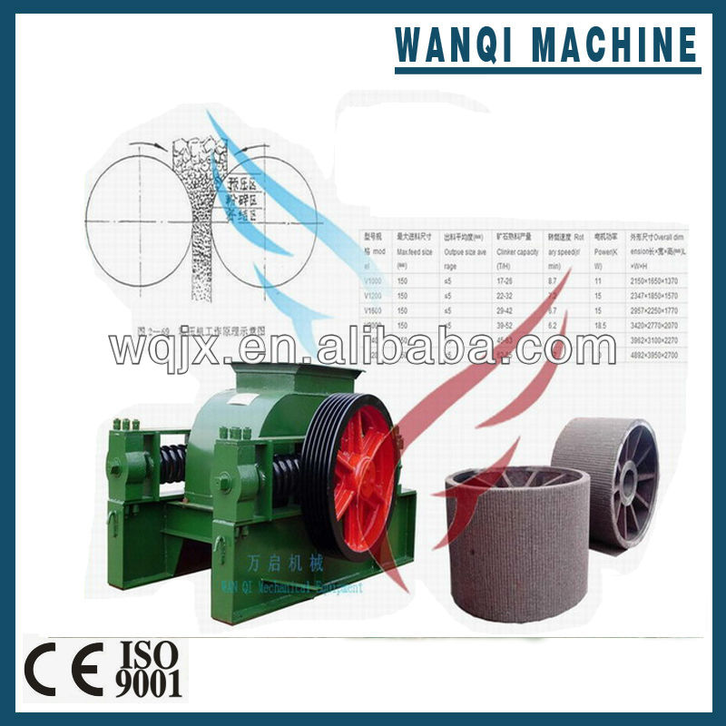 Roller crusher,double roller crusher with factory directly supply
