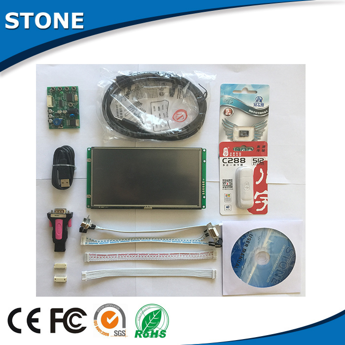 touch screen lcd digitizer monitor 7'' for laser analyzer
