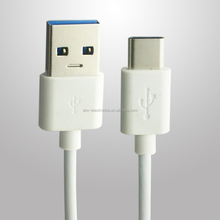 USB 3.0 USB-C Cable 2.4A Fast Charging PVC USB Type C Charger For Apple New Macbook