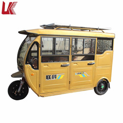 solar electric three wheel car for sale/adult use electric power motor passenger tricycle/electric solar car in America