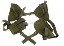 Police Tactical Gun Holster Padded Shoulder Harnesses