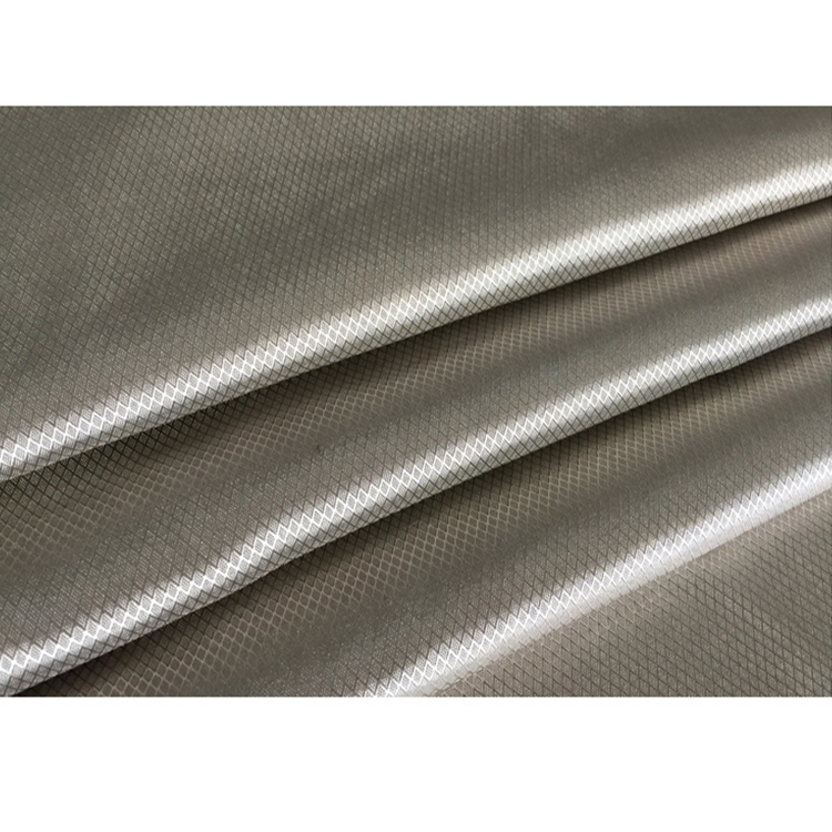 100% Silver fiber EMF shield knitted fabric