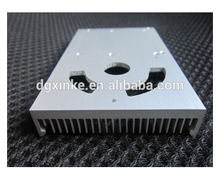 Dongguan High Quality Square Anodized White Aluminum Folded Pin Extrusion Heatsink PCB Radiator Heatsink