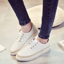 W72223G wholesale plain women casual shoes women flat shoes sneaker 2016