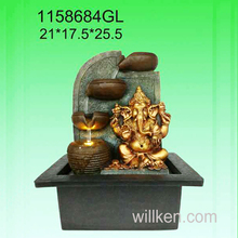 Room decorative indoor hindu god design feng shui water fountain