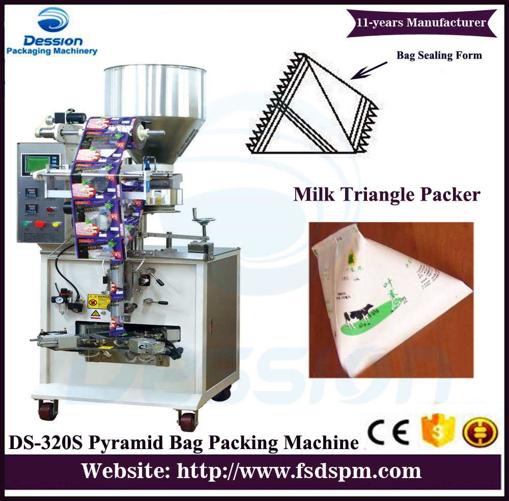 Why milk was in triangular bags