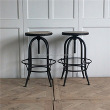 vintage industrial style bar stools