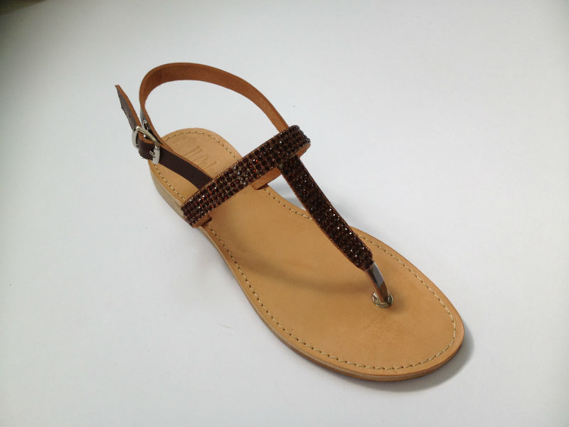 women genuine leather sandals from italy