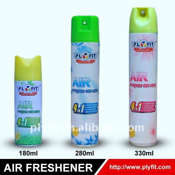 romantic flavour household aerosol air refresher spray