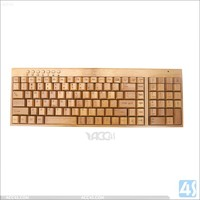 2.4GHz ultrathin Wooden wireless keyboard and mouse