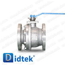 Didtek Anti Blow-Out Stem CF8M Wrench Operate Ball Valve